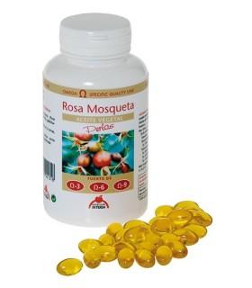 ACEITE DE ROSA DE MOSQUETA DIETETICOS INTERSA 100 PERLAS