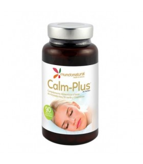 CALM-PLUS® · MUNDONATURAL · 90 CÁPSULAS
