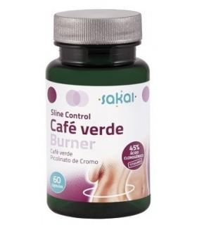 CAFÉ VERDE BURNER · SLINE CONTROL · SAKAI · 60 CÁPSULAS