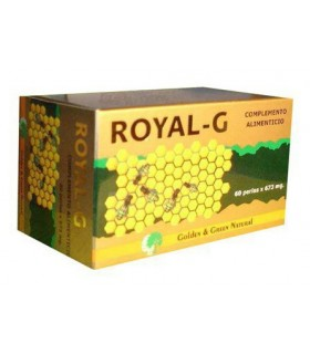 ROYAL-G · GOLDEN  GREEN NATURAL · 60 PERLAS