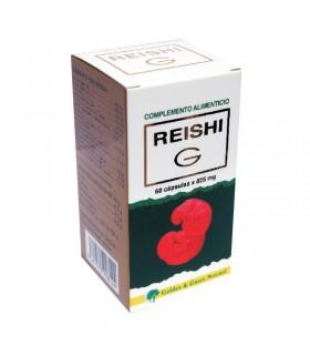 REISHI G · GOLDEN GREEN NATURAL · 60 CÁPSULAS