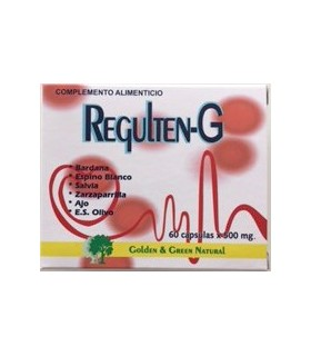 REGULTEN G · GOLDEN GREEN NATURAL · 60 CAPSULAS