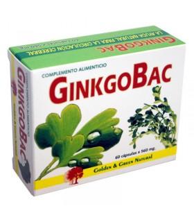 GINKGOBAC · GOLDEN GREEN NATURAL · 60 CÁPSULAS