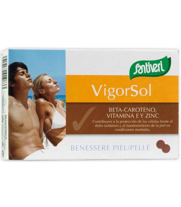 VIGOR SOL · SANTIVERI · 40 PERLAS