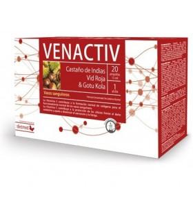 VENACTIV · DIETMED · 20 AMPOLLAS