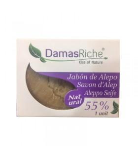 JABÓN ALEPO 55% · DAMAS RICHE
