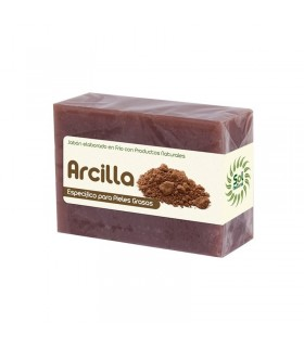 JABÓN ARCILLA · SOL NATURAL · 100 GR