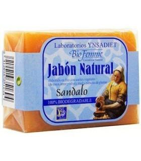 JABÓN NATURAL DE SÁNDALO · BIFEMME · 100 GR