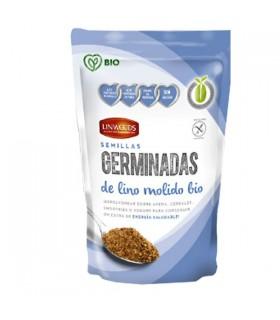 SEMILLAS DE LINO GERMINADAS y MOLIDAS  BIO · LINWOODS · 200 GR