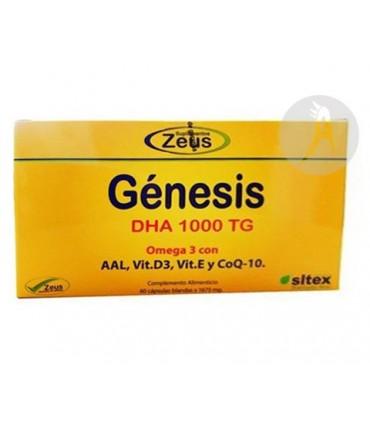 GENESIS DHA 1000 TG · ZEUS · 60 CÁPSULAS
