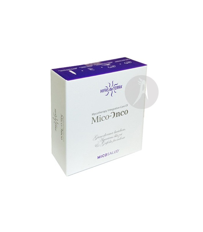 MICO-ONCO · HIFAS DA TERRA · 30 VIALES + 30 CÁPSULAS