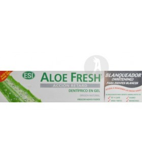 DENTÍFRICO ALOE FRESH ACCIÓN RETARD BLANQUEADOR · ESI · 100 ML
