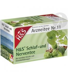 ARZNEITEE 11 (INFUSIÓN INQUIETUD NERVIOSA) · H&S · 20 BOLSITAS