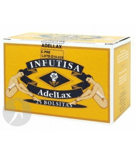 ADELLAX HIERBAS NATURALES · INFUTISA · 25 BOLSITAS