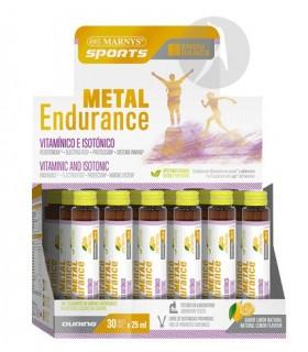 METAL ENDURANCE · MARNYS · CAJA CON 30 VIALES DE 25 ML