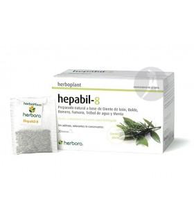 HEPABIL 8 · HERBOPLANT · 20 BOLSITAS
