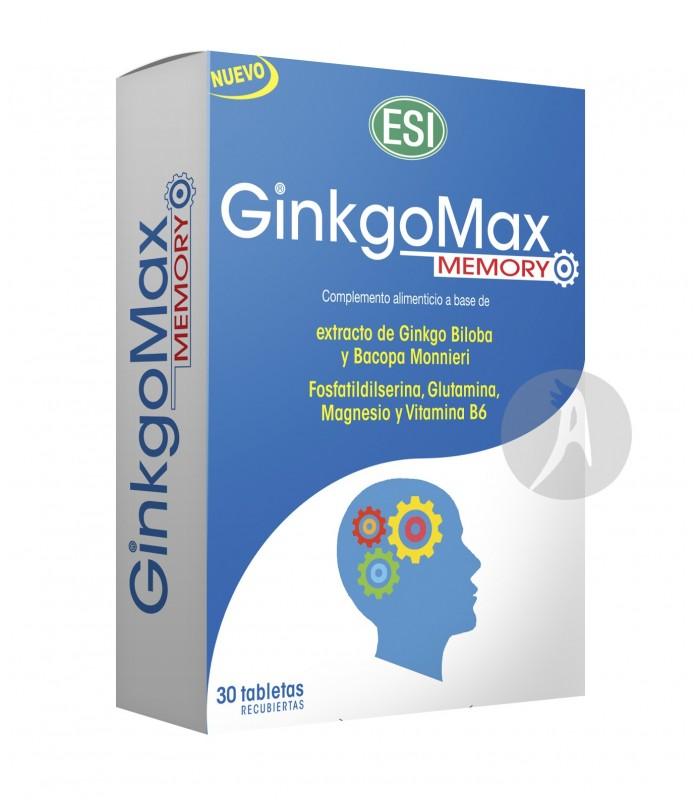 GINKGOMAX MEMORY  · ESI · 30 TABLETAS