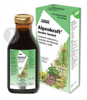 ALPENKRAFT JARABE HERBAL · SALUS · 250 ML