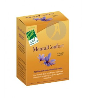 MENTAL CONFORT · 100% NATURAL · 60 Cápsulas