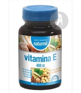 Vitamina E 400 UI · Naturmil · 30 Perlas