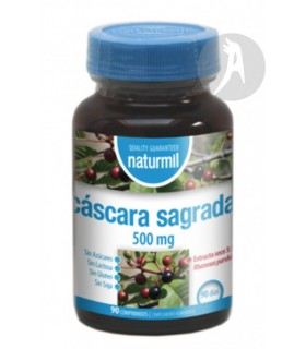 Cáscara Sagrada · Naturmil · 90 Comprimidos