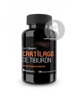 CARTÍLAGO DE TIBURÓN · HERBORA · 120 CÁPSULAS