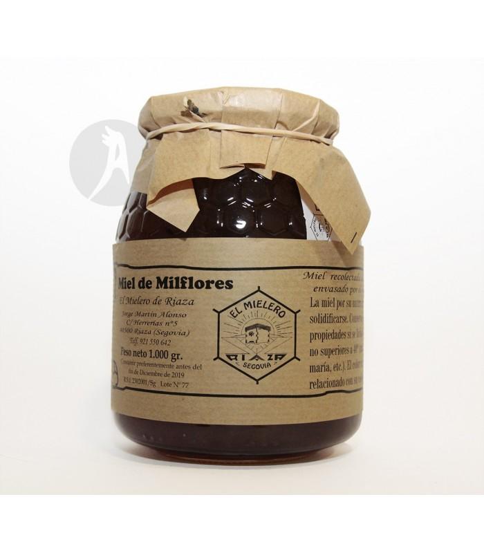 Miel de Milflores · El Mielero de Riaza · 1 Kg