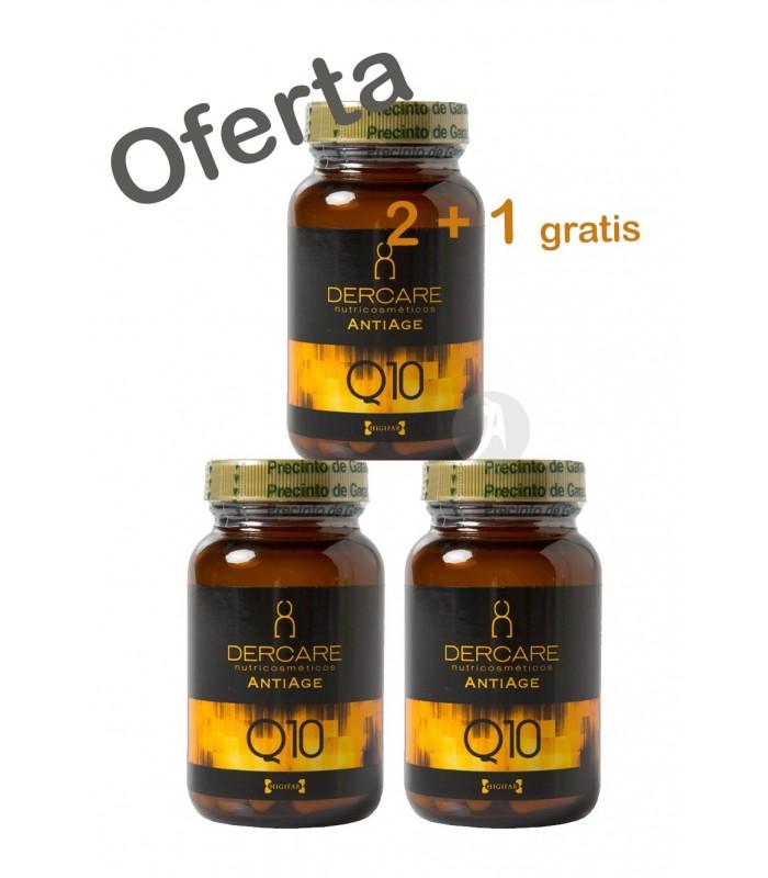 Dercare Antiage Q10 · Higifar · 60 Cápsulas · PROMO 2+1 de Regalo