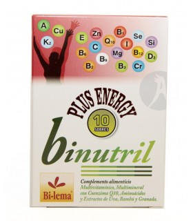 Binutril Plus Energía · Bilema · 10 Sobres