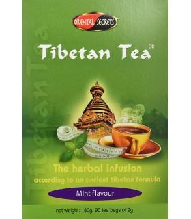 Te Tibetano Sabor Menta · Tibetan Tea · 90 Bolsitas