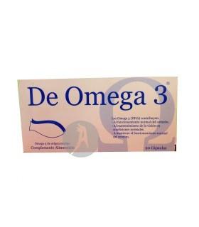 DeOmega 3 · Laboratorios Gramar · 90 Cápsulas