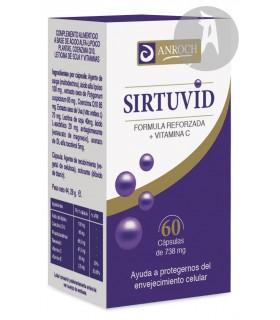 Sirtuvid · Cidifar · 60 Cápsulas
