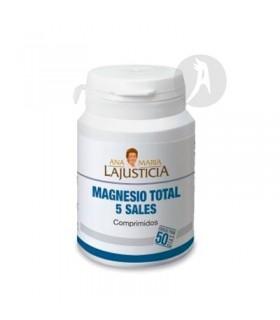 Magnesio Total 5 Sales · Ana María La Justicia · 100  Comprimidos