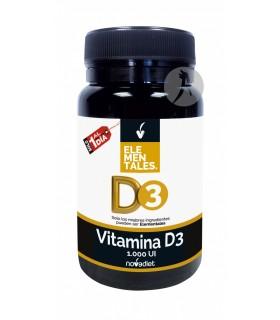 Vitamina D3 Elementales · Novadiet · 120 Comprimidos