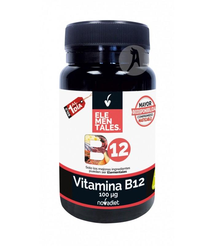 Vitamina B12 Elementales · Novadiet · 120 Comprimidos