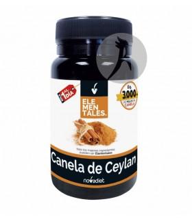 Canela de Ceylan Elementales · Novadiet · 30 Cápsulas