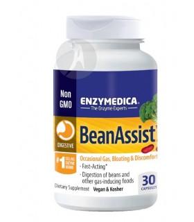 BeanAssist Enzymedica · Pharmadiet · 30 Cápsulas