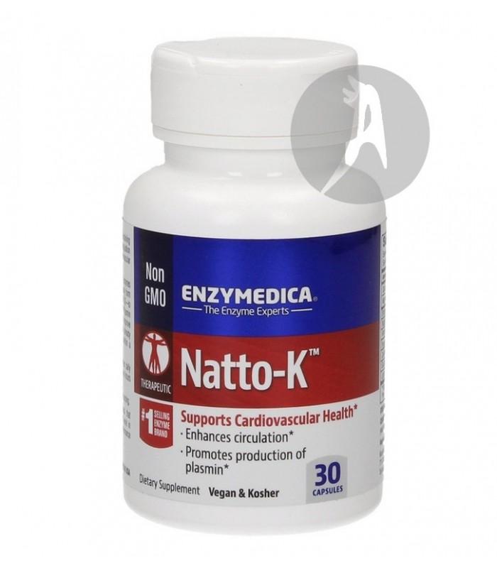 Natto-K Enzymedica · Nutrinat · 30 Cápsulas
