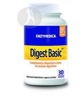 Digest Basic Enzymedica · Nutrinat · 30 Cápsulas