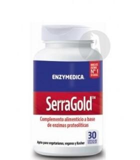 SerraGold Enzymedica · Nutrinat · 30 Cápsulas