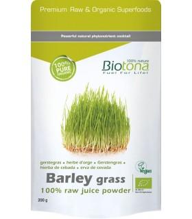 BARLEY GRASS HIERBA DE CEBADA BIOTONA 200G