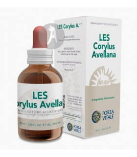 LES Corylus Avellana (Avellano) · Forza Vitale · 50 Ml