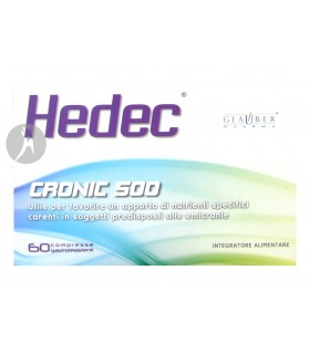Hedec · Glauber Pharma · 60 Comprimidos