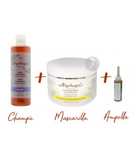 Pack Cuidado Capilar · Algologie · Champú + Mascarilla + Ampolla