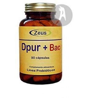 Dpur + Bac · Zeus · 90 Cápsulas