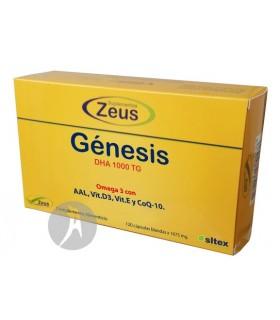 Génesis DHA 1000 TG · Zeus · 120 Cápsulas