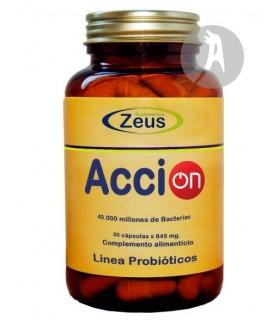 Acción · Zeus · 30 Cápsulas