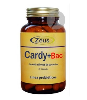 Car+Bac · Zeus · 30 Cápsulas