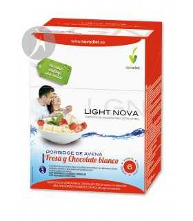 Light Nova Porridge de Avena · Novadiet · 6 Sobres