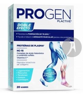 Progen Plactive · Pharmadiet · 20 Sobres